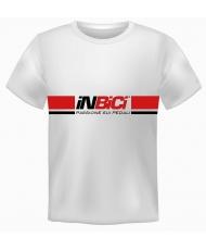 T-SHIRT BIANCA COTONE 100% CON BRAND INBICI